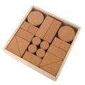 KOIDE 日本製 コルク積み木 19ピース