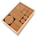 KOIDE 日本製 コルク積み木 26ピース