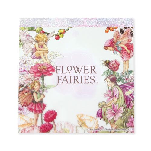 FLOWER FAIRIES メモパッド・スクエア<pink>