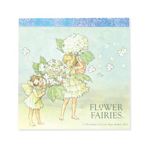 FLOWER FAIRIES メモパッド・スクエア<Guelder Rose>