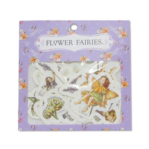 FLOWER FAIRIES フレークシール<purple>