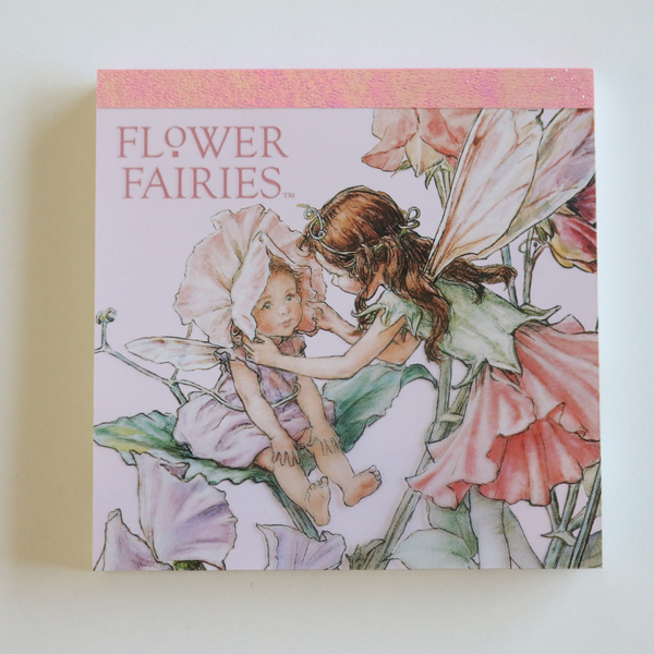 FLOWER FAIRIES メモパッド・スクエア<Garden>FF-105