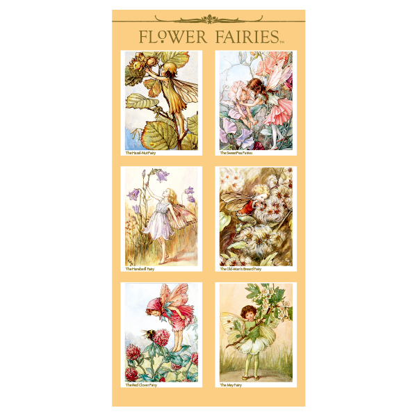 FLOWER FAIRIES シール< I >