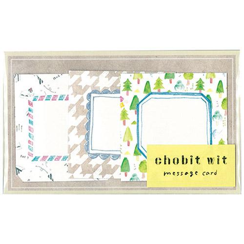 chobit wit メッセージカード<shikaku_forest>