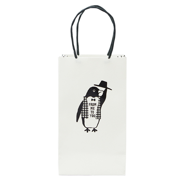 Owl products ミニペーパーバッグ<penguin>