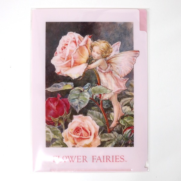 FLOWER FAIRIES A5クリアファイル<Rose>