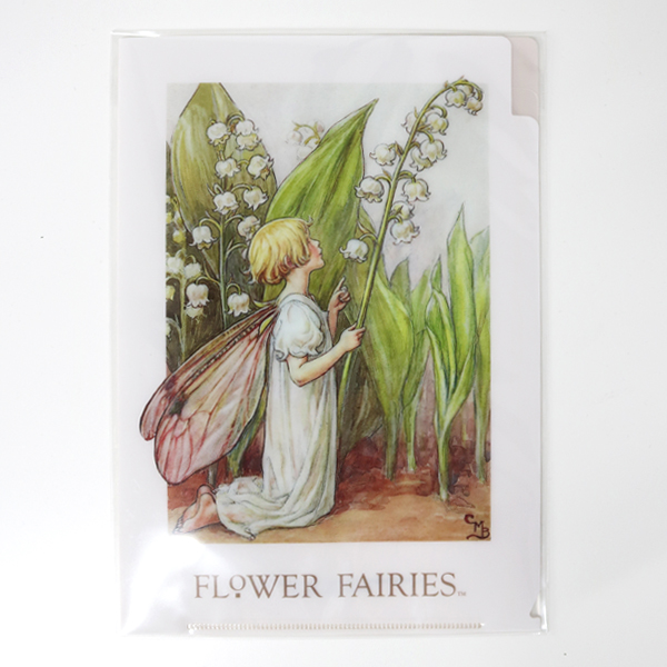 FLOWER FAIRIES A5クリアファイル<Lilly-of-the-Valley>