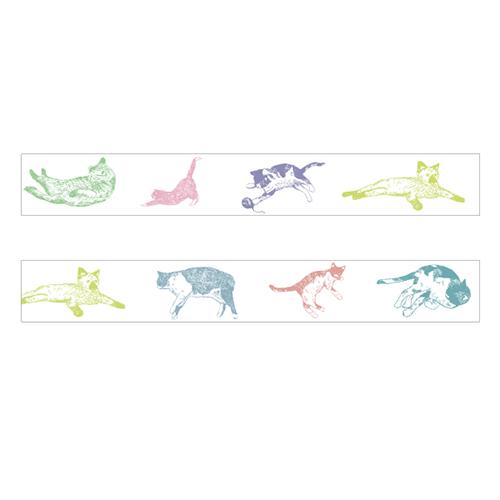 マスキングテープ<cat_colorful>