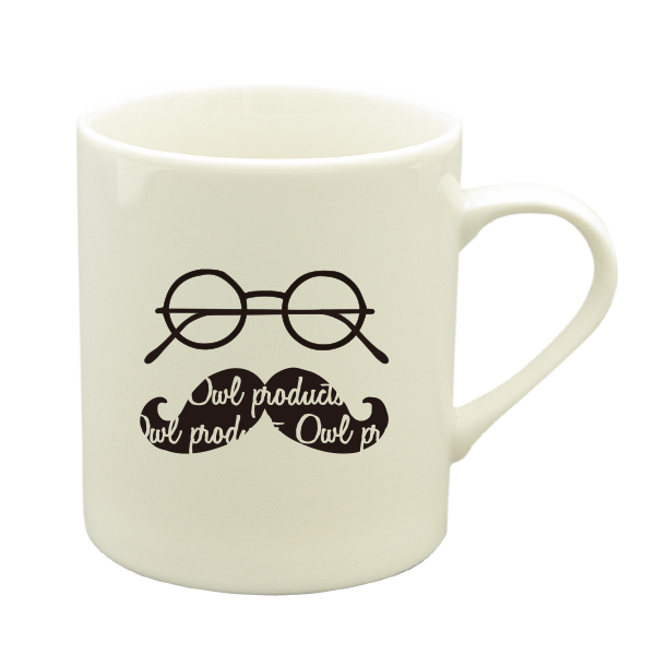 Owl products マグカップ<hige>