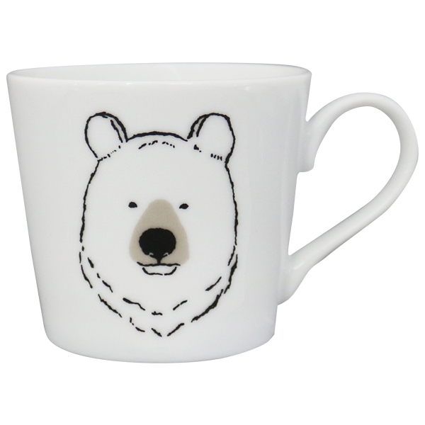 マグカップ<bear_white>