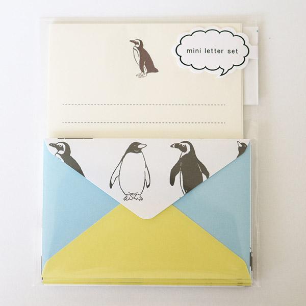 Animal Series ミニレターセット<ペンギン>