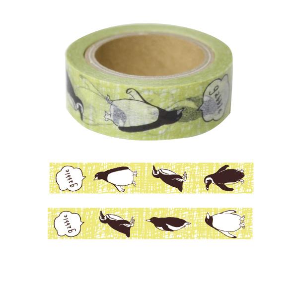 Animal Series マスキングテープ<ペンギン> GF-391
