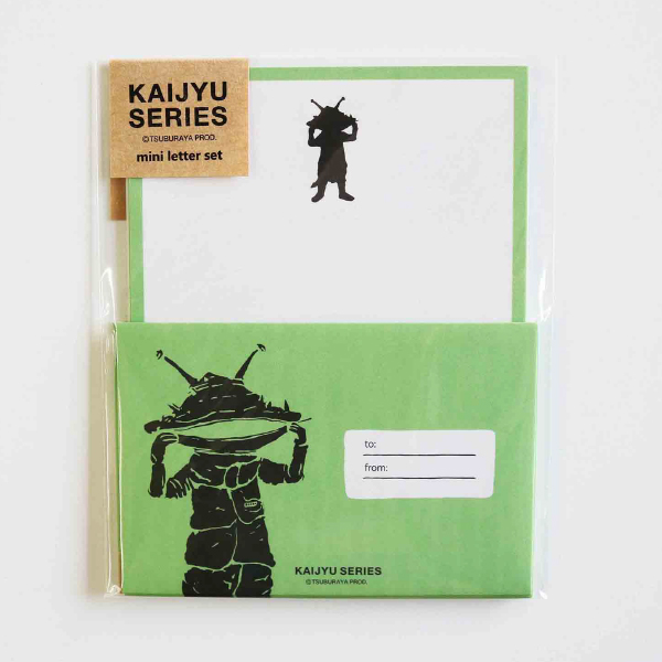 KAIJYU SERIES ミニレターセット<カネゴン/ネガ>TB-228