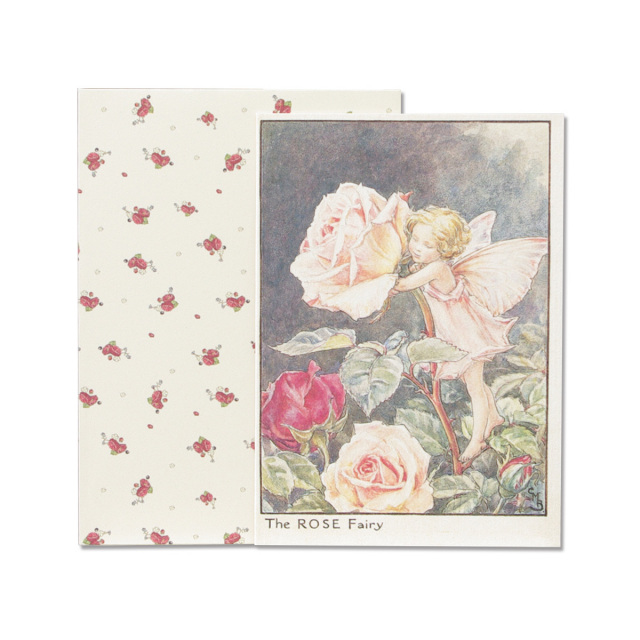 FLOWER FAIRIES グリーティングカードセット<Rose>