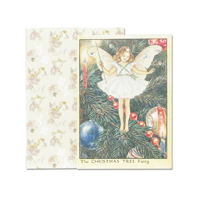 FLOWER FAIRIES グリーティングカードセット<Christmas Tree>
