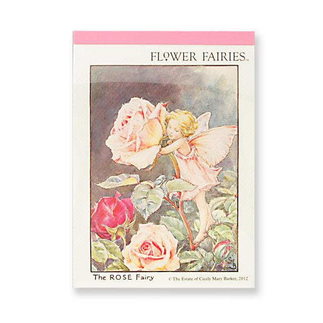 FLOWER FAIRIES メモパッド<Rose>