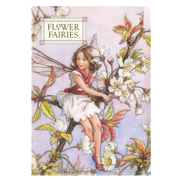 FLOWER FAIRIES A5クリアファイル<Wild Cherry Brossom>