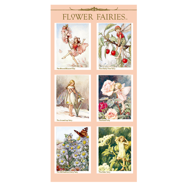 FLOWER FAIRIES シール< G >