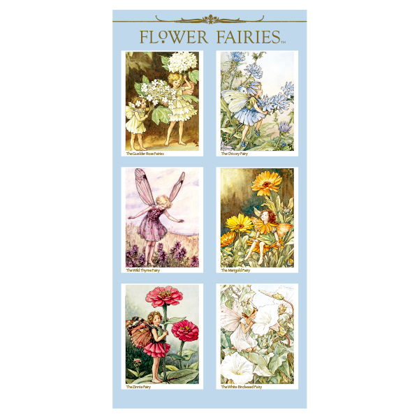 FLOWER FAIRIES シール< H >