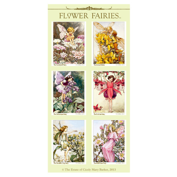 FLOWER FAIRIES シール< J >