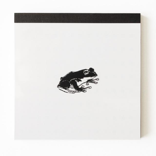 Animal Series メモパッド・スクエア<カエル>