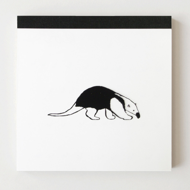 Animal Series メモパッド・スクエア<アリクイ>
