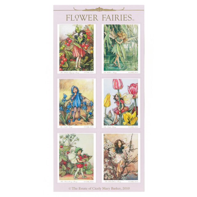 FLOWER FAIRIES シール< D >