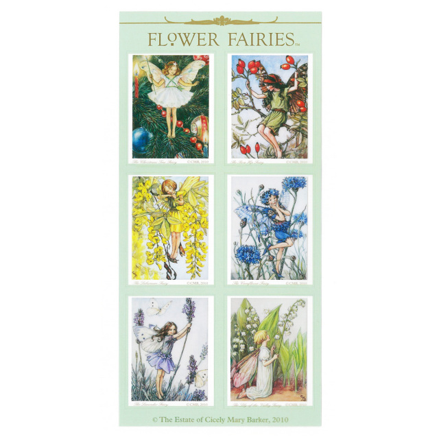 FLOWER FAIRIES シール< F >