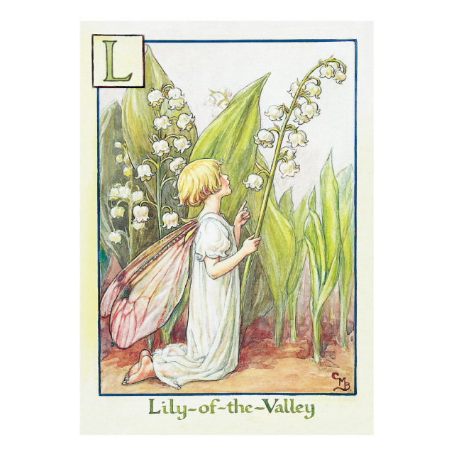 FLOWER FAIRIES ポストカード<Lily-Of-theValle Fairy>