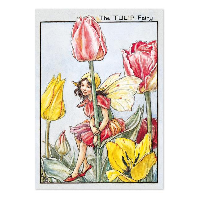 FLOWER FAIRIES ポストカード<Tulip Fairy>