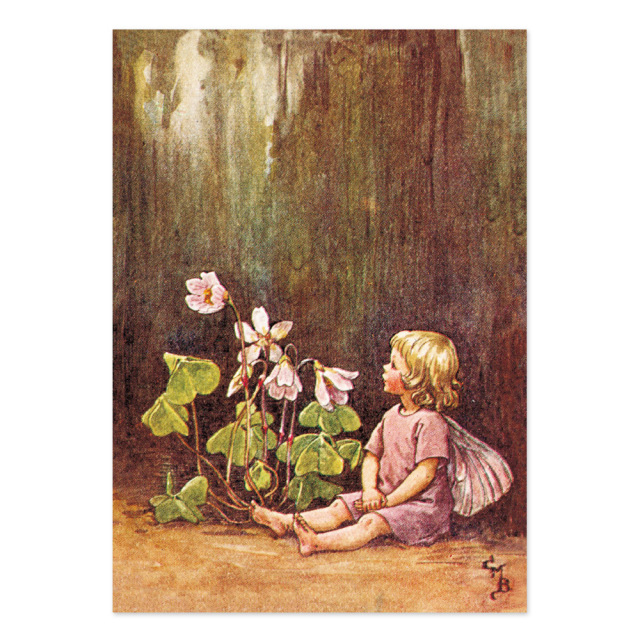 FLOWER FAIRIES ポストカード<Wood-sorrel Fairy>