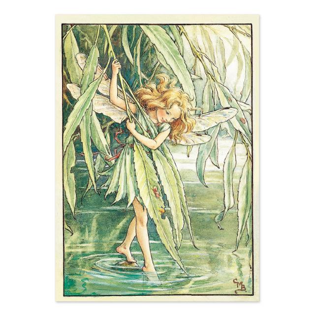 FLOWER FAIRIES ポストカード<The Willow Fairy>