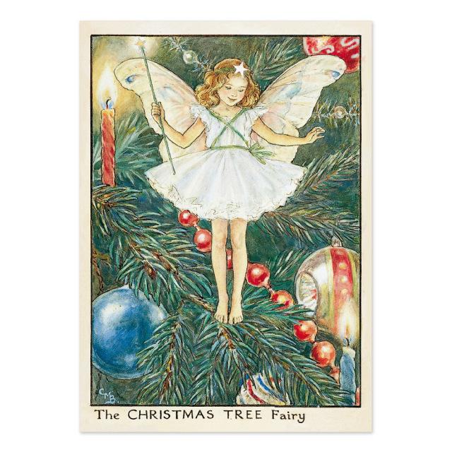 FLOWER FAIRIES ポストカード<Christmas Tree Fairy>