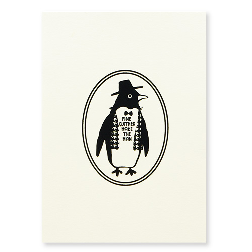 Owl products メモパッド<penguin>