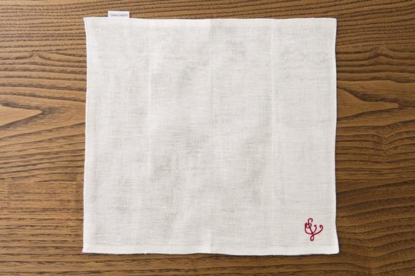 亜麻蚊帳織の台ふきん