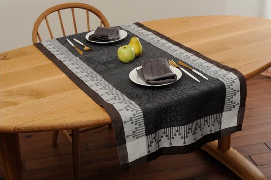 テーブルランナー チャコール