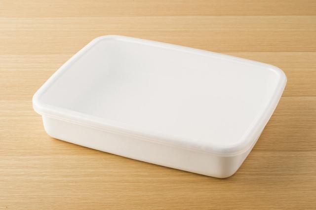 ホワイトシリーズ レクタングル浅型L