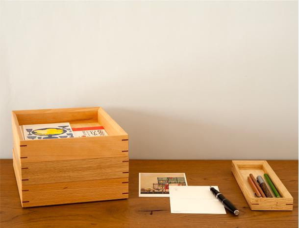 日本の森の文箱