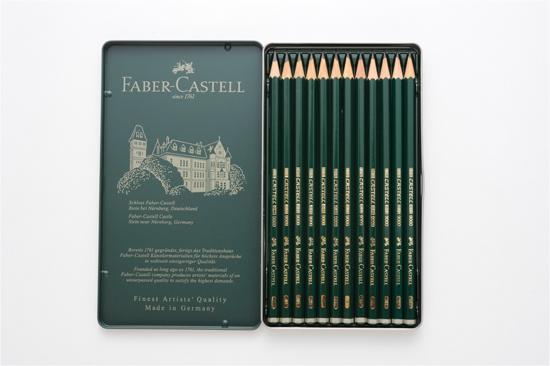 ファーバーカステル鉛筆12本セット