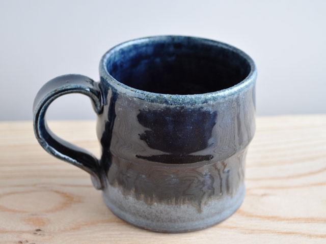 ルリ釉マグカップ-1