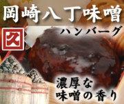 真空調理でふっくらジューシー家庭で職人の味 岡崎八丁味噌ハンバーグ(ソース入り)
