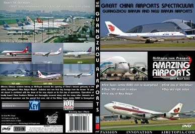 ( DVD ���Ե� ) AirUtopia China Airports Spectacular GUANGZHOU NEW and OLD BAIYUN