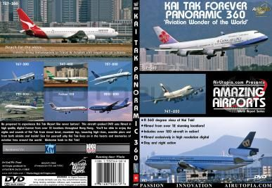 ( DVD ���Ե� ) AirUtopia Kai Tak Forever Panoramic360