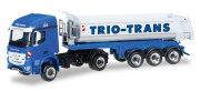 "herpa Cars&Trucks 1/87 メルセデスベンツ アクロスダンプセミトレーラー ""Trio-Trans"""