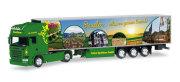 "herpa Cars&Trucks 1/87 スカニアR TL冷蔵ボックスセミトレーラー""Gellen"""