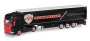 "herpa Cars&Trucks 1/87 スカニア R TL カーテンキャンバス セミトレーラー ""Heinrichs"""