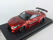 ignition model(イグニッションモデル) 1/43 LB-WORKS GT-R (R35) Red Metallic ★生産予定数:140pcs