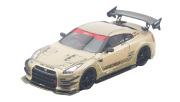 タイガーゲートジャパン 1/43 トップシークレット R35 GT-R TOP SECRET GOLD