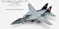 [海外並行品]CenturyWings 1/72 F-14B アメリカ海軍 第103戦闘飛行隊 「ジョリーロジャース」 特別塗装 「サンタ・キャット」 00年 AA103 ※フラップダウン・主翼固定