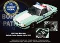 [予約]ACME 1/18 フォード マスタング 1988 合衆国国境警備隊(U.S.Border Patrol)